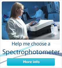 Help me choose a spectrophotometer